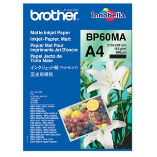 Brother Foto papir mat A4, 25 listov