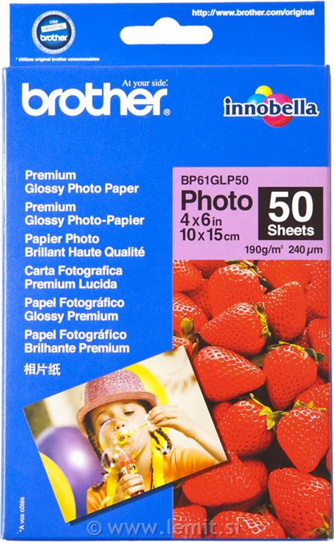 Brother Foto papir glossy 10x15 cm