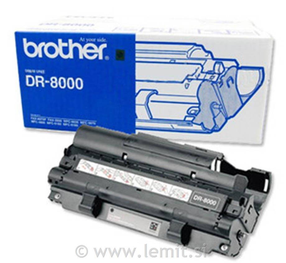 Brother Boben DR8000, 8.000 strani