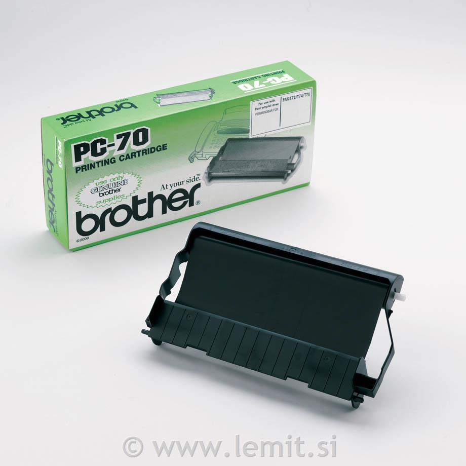 Brother Termo rola PC70YJ1, 2 kosa