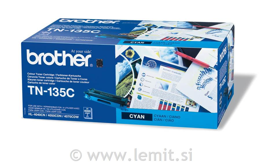 Brother Toner TN135C, cyan, 4.000 strani