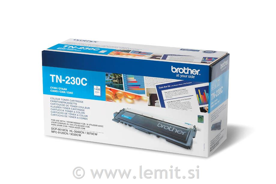 Brother Toner TN230C, cyan, 1.400 strani