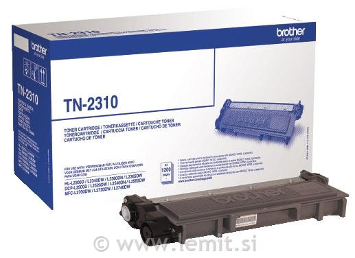 Brother Toner TN2310, črn, 1.200 strani