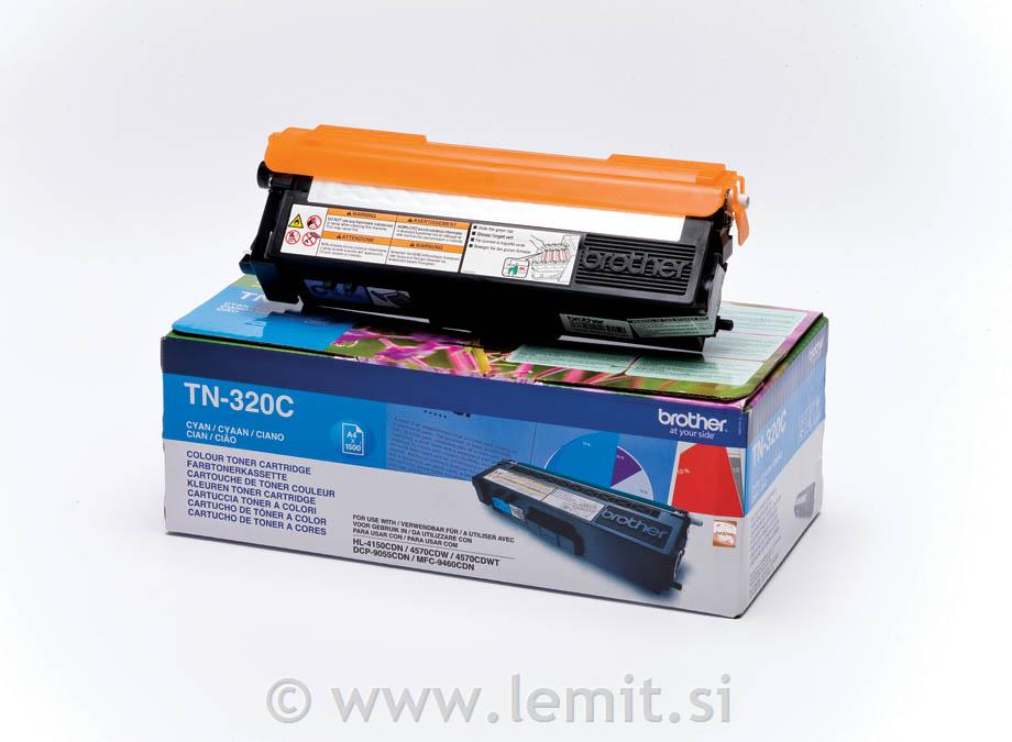 Brother Toner TN320C, cyan, 1.500 strani