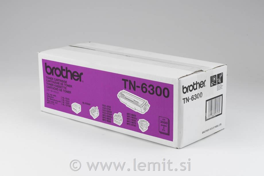 Brother Toner TN6300, črn, 3.000 strani