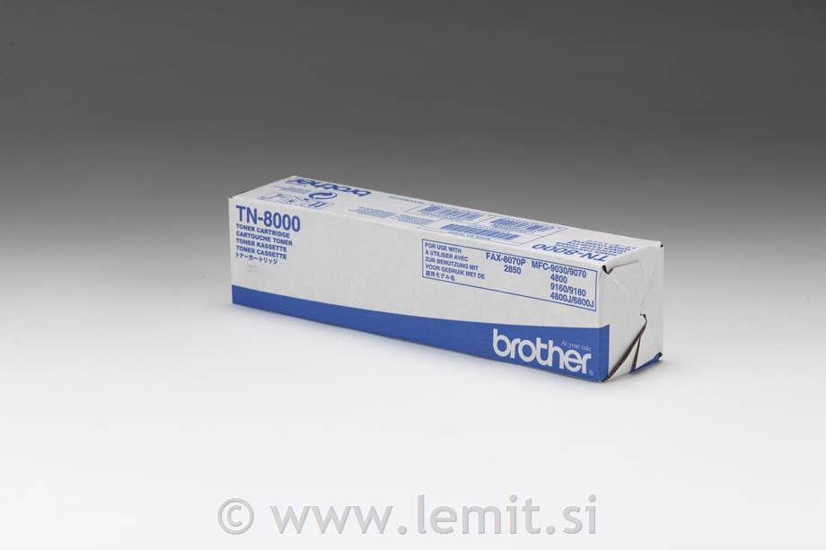 Brother Toner TN8000, črn, 2.200 strani