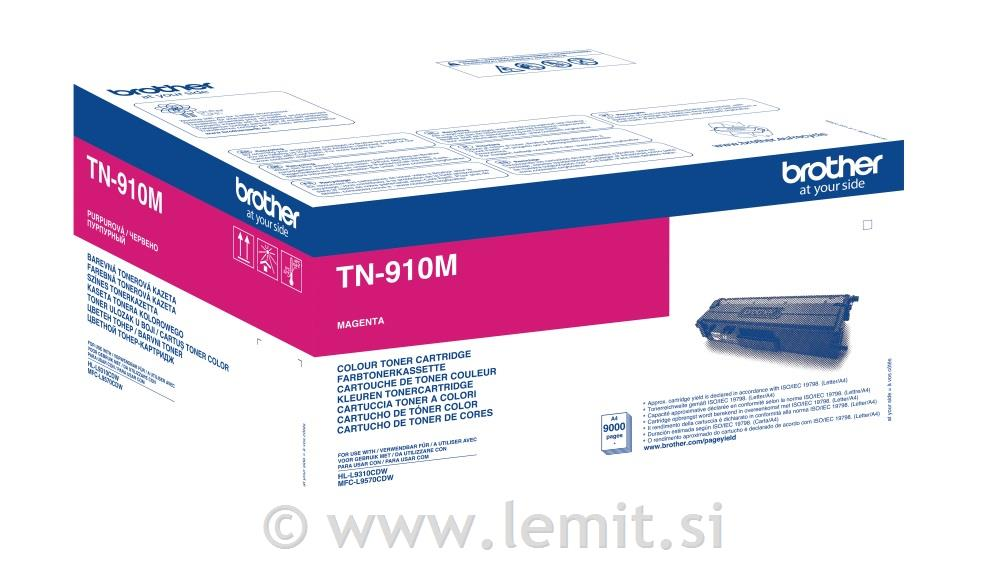 Brother Toner TN910M, magenta, 9.000str.